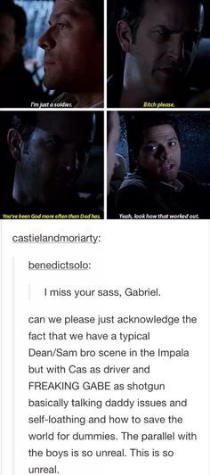 castiel and gabriel - - Yahoo Image Search Results