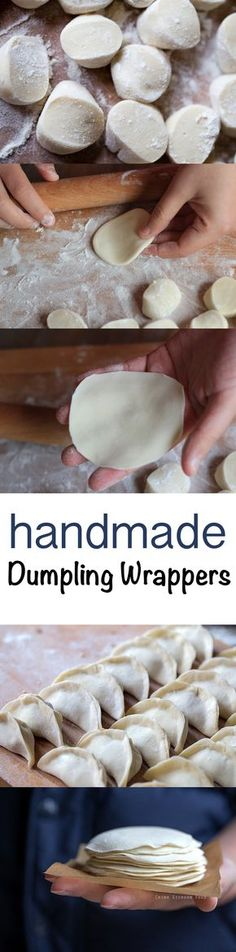 Dumpling Wrappers #homemade | ChinaSichuanFood.com