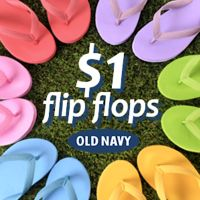 86715f8e29a Old Navy Cardholders   1 Flip Flops Sale (5 25-5 28)