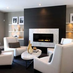 Contemporary Family Room Design, Pictures, Remodel, Decor and Ideas - page 6