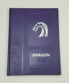 YEARBOOK 1984 Dragon Dawson County High School Welch, Texas Annual HB Lamesa Yearbooks, Vocabulary, High School, Texas, Dragon, Teaching, Grammar School, High Schools, Dragons