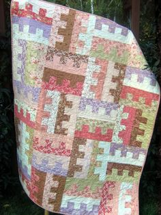 QUILT PATTERN ....One Jelly Roll easy and quick Key by sweetjane
