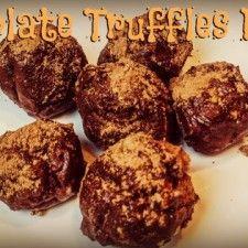 Healthy Chocolate Truffles - No Added Sugar