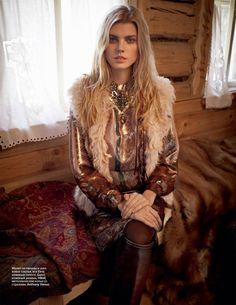 Maryna by Mariano Vivanco (Vogue Russia)