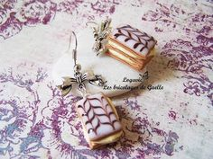 Tuto Fimo : le millefeuille - polymer tutorial : French millefeuille - YouTube