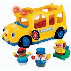 Fisher-Price Little People Yellow Schoolbus