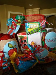 You can download and print the labels for these gifts on this blog site. She has great ideas!
