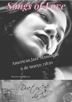 """Duetos da Sé"", #restaurante #café #bar, #Alfama, #Lisboa, #Lisbon #Portugal - #concerto Alfama #jazz - Duetos da Sé - Alfama Lisboa - TERÇA-FEIRA 6 DE MARÇO 2018 - 21h30 - American Jazz Standards - Tanja Simic Trio - ""songs of love"""