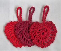 1 Sett m/3 hekla røde hjerter