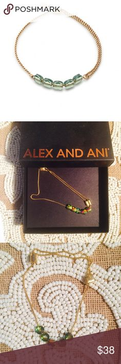 Alex & Ani Expandable Bracelet I purchased this directly from the Alex & Ani website and I never ended up wearing. This will come in the Alex & Ani pouch & gift box. Retails for $68 plus tax. I have the receipt for proof of purchase. Alex and Ani Jewelry Bracelets