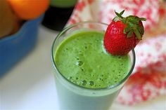 Green Kiwi Tangerine Smoothie
