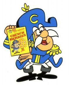 His real name: Captain Horatio Magellan Crunch