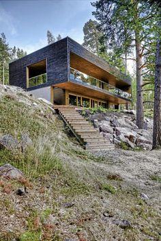 Arkitektene Plus - Ferdighus fra Finland - via dagbladet.no