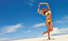 Jessica Hart for Calzedonia swimwear