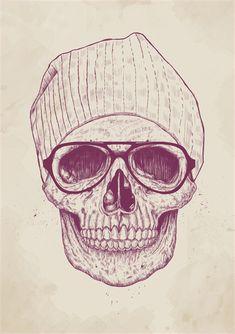 Calaveras hipsters tumblr - Imagui