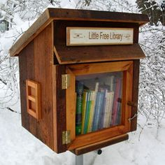 Buy Or Make A Little Free Library For Your Yard?
