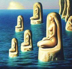 Atlantes - Sabin Balasa Unknown Date New Media Art, New Art, Roman, Inspirational Artwork, Art Database, Oil Painting Reproductions, Medium Art, Oil Painting On Canvas, Illustration Art