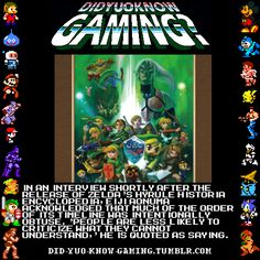 Did You Know Gaming? Hyrule Historia