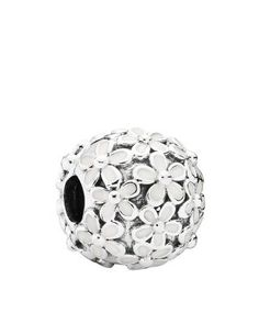 PANDORA Charm - Sterling Silver & Enamel Darling Daisy Meadow, Moments Collection | Bloomingdale's