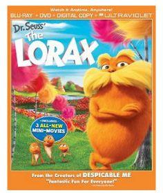 Dr. Seuss' The Lorax Blu-ray/DVD/Digital Copy Only $12.74!