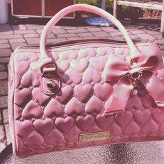 Pink Heart purse