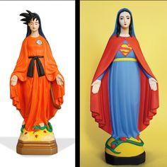Soasig Chamaillard est une artiste Française qui nous vient de Nante. Sa spécialité : le détournement de la vierge Marie, ses outils de travail : son imagination, et de vielle statue abîmées, provenant de brocantes ou de dons. Cette artiste plein de talents customise l'icône de la mère de Dieu, en détournant des statues sous toute forme possible. Ainsi vous pouvez retrouver la sainte vierge en Sangoku, en tortue ninja , une vierge superman, ou encore une vierge Marie Mario Bros. En détou...
