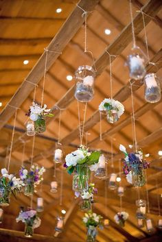 24 Ways To Transform Your Reception Space ❤ See more: http://www.weddingforward.com/wedding-reception-space/ #weddings #decorations