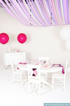 Would be so fun for L's next birthday decor