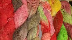 Sockenwolle zum Färben  75% Schurwolle/ 25% Polyamid  Kool-Aid