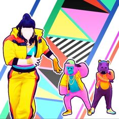 Cotton Eyed Joe, Police Truck, Careless Whisper, The Final Countdown, Bad Romance, Hold My Hand, Pictogram, Just Dance, Scooby Doo