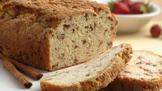 Best zucchini bread ever! A moist and delicious zucchini bread flavored with walnuts and cinnamon. Easy to bake and freeze, this recipe makes two loaves. Zucchini Bread Recipes, Quick Bread Recipes, Cooking Recipes, Zuchinni Bread, Zucchini Ravioli, Zucchini Muffins, Pancake Recipes, Muffin Recipes, Pizza Recipes