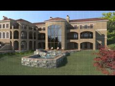 This is the Athena plan, a concept design. It is a Mediterranean home with a total of 14,737 square feet on three floor levels. it includes 7 bedrooms, 7 bathrooms and 2 half baths. It also has a four car garage and a master bedroom closet that many women often dream of. Find more information about this plan at http://www.designevolutions.com/concepthouseplans/athena.html #mediterranean #house #plans
