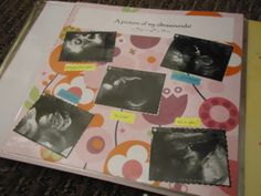 *** DIY baby memory book! Made with PowerPoint and scrapbooking, incl jungle/animal theme!