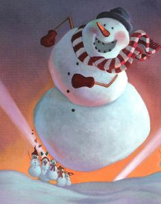 Snowmen at Night 5