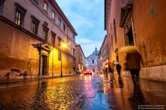 Early morning and it's raining in Rome. Still beautiful though :-)