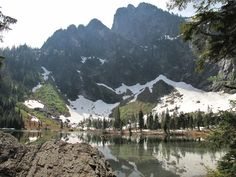 Heather Lake — Washington Trails Association North Cascades - Mnt Loop Hwy 4.6 mi 1034 ft gain doggies allowed!! NW Forest Pass required