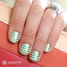 If shamrocks and rainbows aren't your style this St. Patrick's day, check out this subtle yet festive style!!!