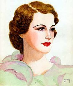 1936 lipstick ad
