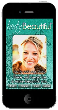 Body Beautiful App: empowerment and encouragement at your fingertips as often as your smartphone is (which, for me, is all the time!). A nice way to break up the stress of work/life with something uplifting!