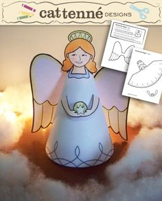 Christmas Angel Craft pattern