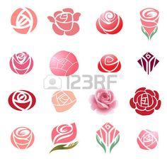 """Résultat de recherche d'images pour """"dessin fleurs roses"""""""