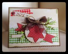 "Dolci Incarti: Card ""Country Christmas"""