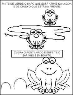 Atividade com Sapo Educação Infantil Snoopy, Comics, Fictional Characters, Letter E Activities, Class Activities, Letter Of The Day, Toad, Preschool, Lyrics