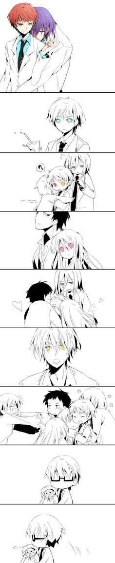 Everybody loves Akashi (Midorima? o.o)