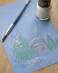 Salt Painting Activity