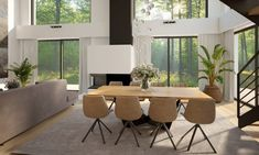 NASZE PROJEKTY Conference Room, Art Deco, Table, Furniture, Dom, Home Decor, Design, Decoration Home, Meeting Rooms