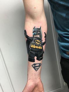 Lego Batman Tattoo - http://tattooideas22.com/lego-batman-tattoo/