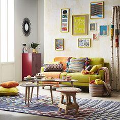Idées déco salon - Déclic Colors