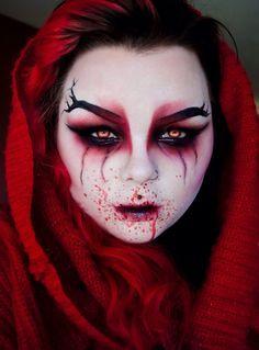Halloween Makeup Special Effects Costume Halloween, Halloween Looks, Scary Halloween, Halloween Makeup, Happy Halloween, Halloween 2017, Creepy Makeup, Horror Makeup, Zombie Makeup