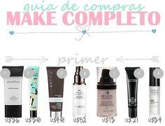 GUIA DE COMPRAS EUA | PARTE 1 - MAKES • Minha Querida Necessaire Makeup Tips, Beauty Makeup, Make Beauty, Travelling Tips, Diy Tutorial, Your Skin, Avon, Fitness Tips, Orlando